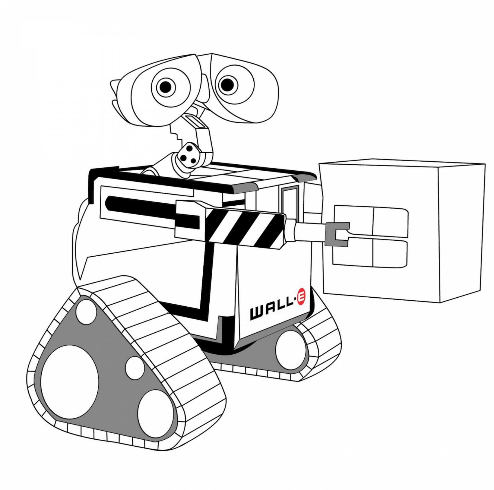 Wall E Coloring Pages Best Coloring Pages For Kids