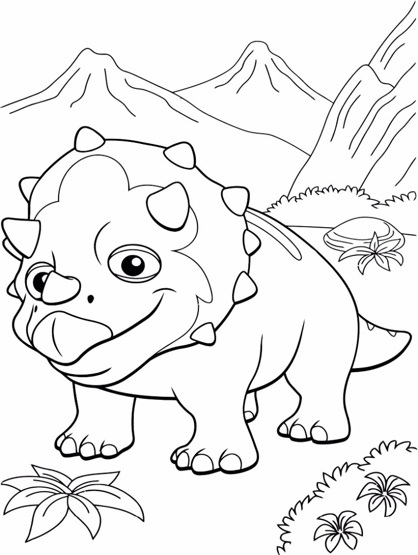 Dinosaur Train Coloring Pages - Best Coloring Pages For Kids