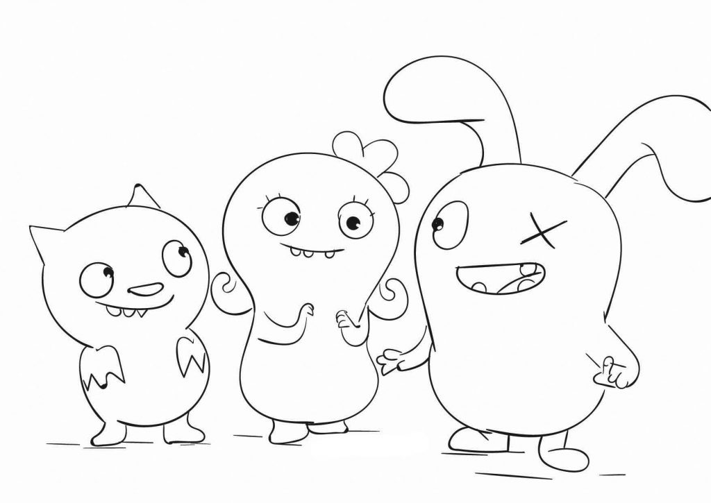 Ugly Dolls Coloring Page