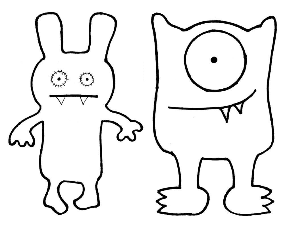 Ugly Dolls Coloring Pages - Best Coloring Pages For Kids
