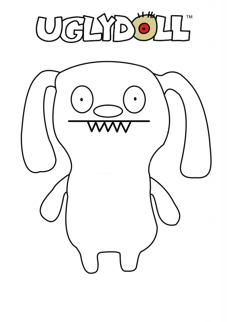 Uglydolls Coloring Page