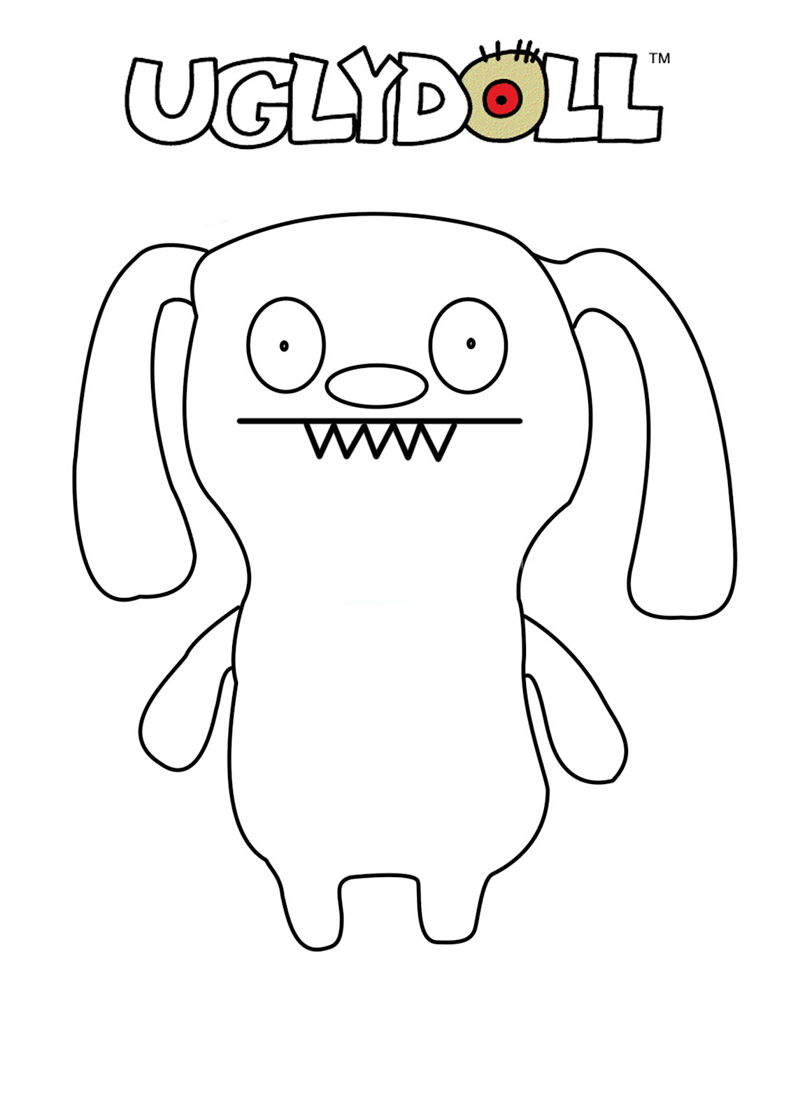 coloring pages of ugly dolls | Ugly Dolls Coloring Pages - Best Coloring Pages For Kids