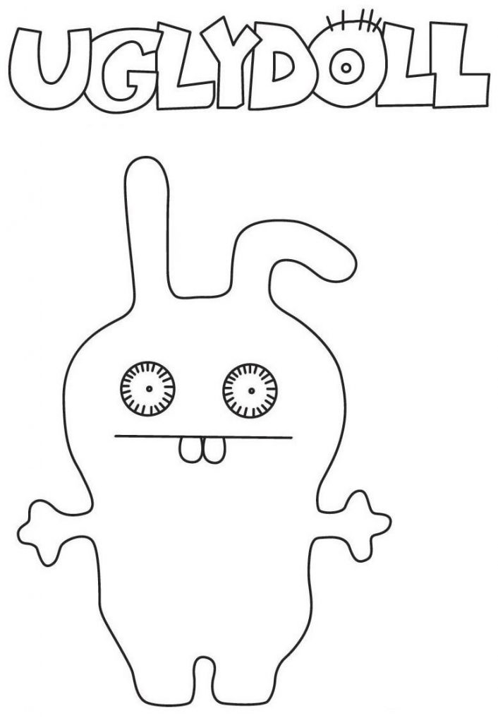 Uglydolls Printable Coloring Page