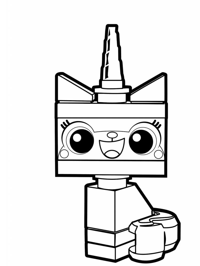 Unikitty - Lego Movie Coloring Pages