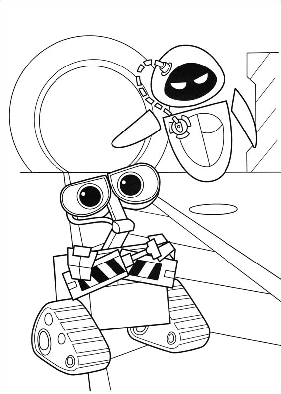 walle the movie coloring pages-#5