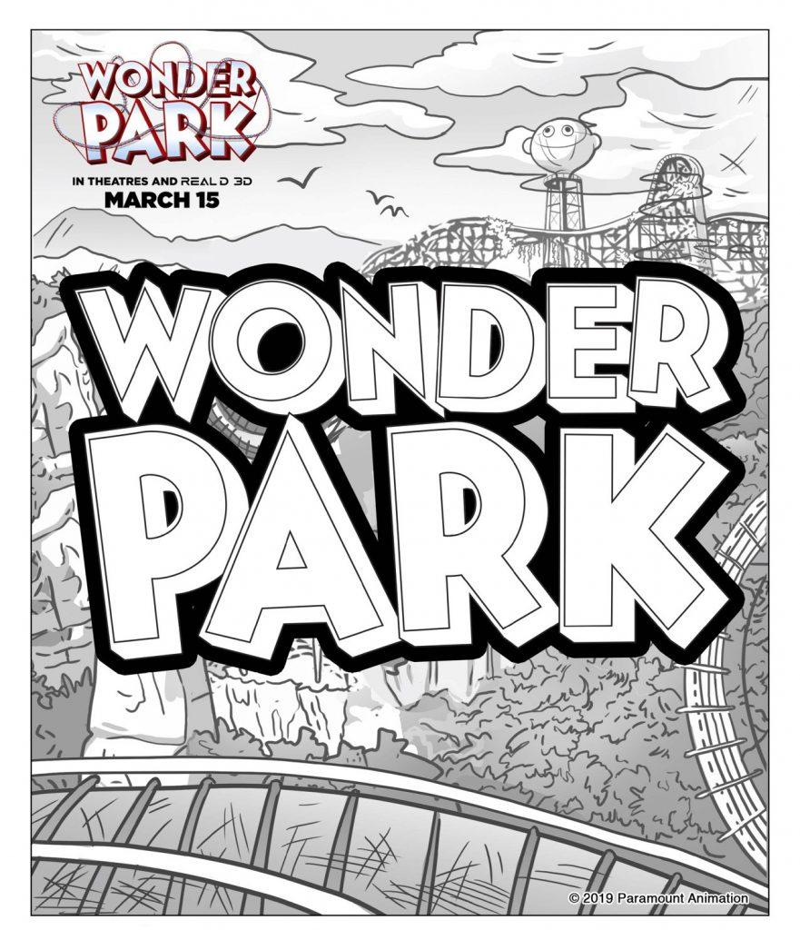 Wonder Park Logo Coloring Pages