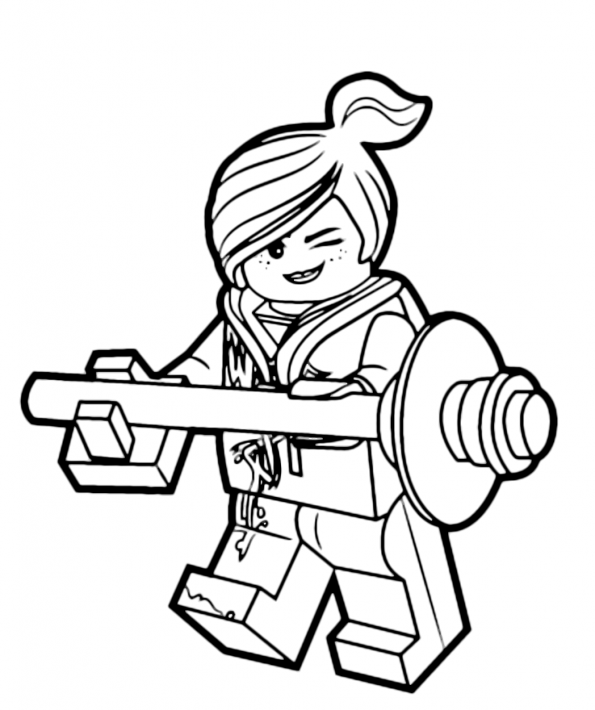 WyldeStyle - Lego Movie Coloring Page