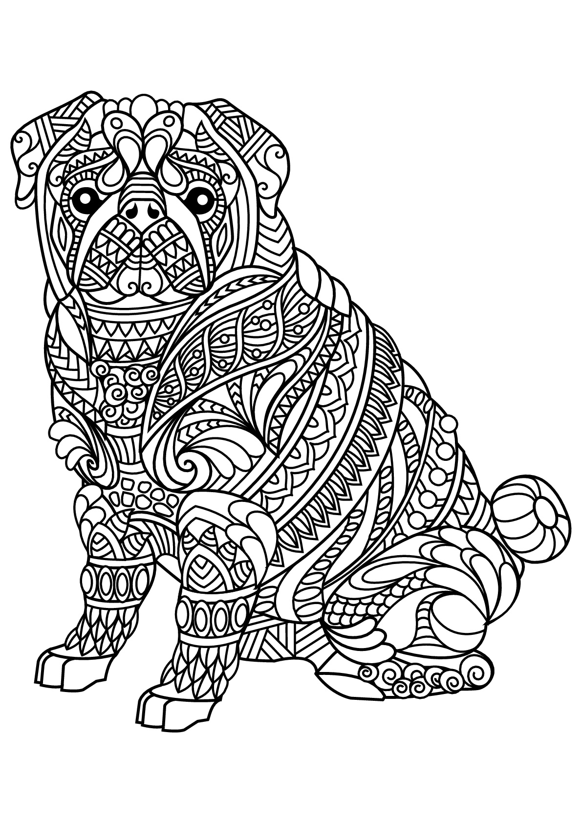 - Bulldog Coloring Pages - Best Coloring Pages For Kids