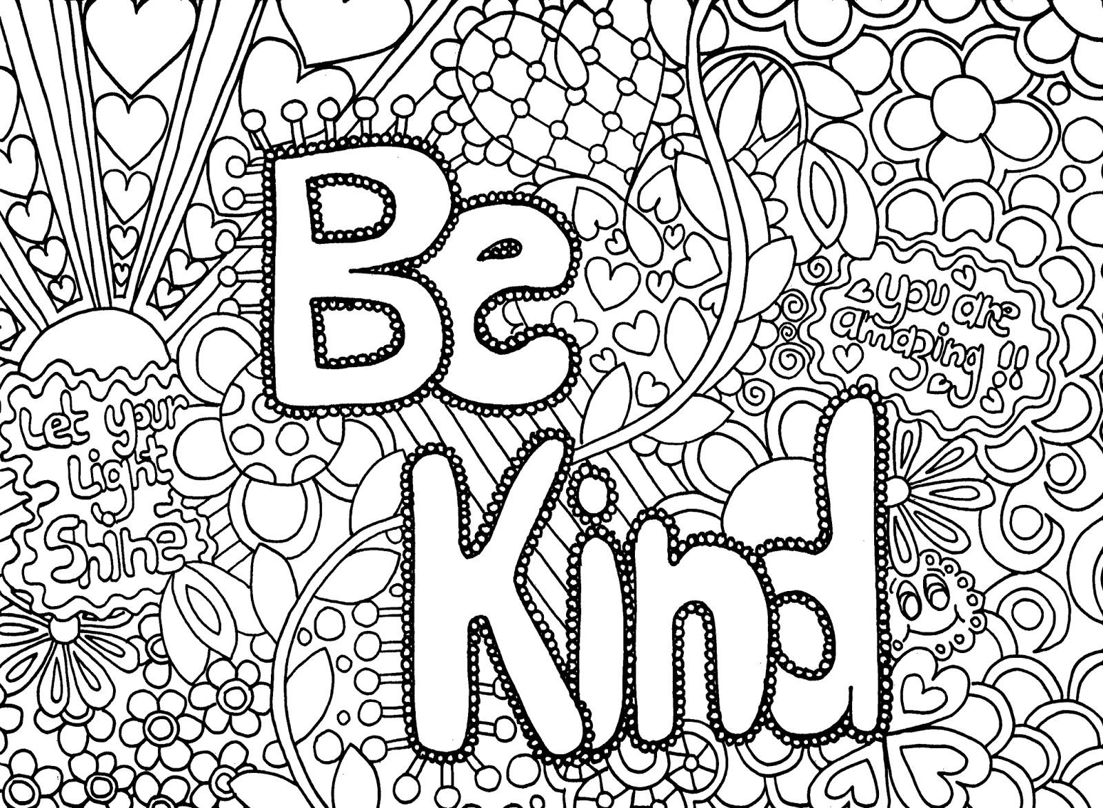 - Kindness Coloring Sheets Azspringtrainingexperience