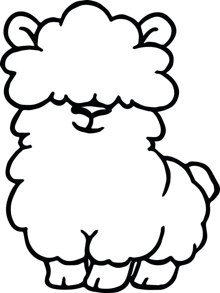Animal Llama Print Coloring Pages 5f Funny Of Free | Diaiz ... | 1024x767