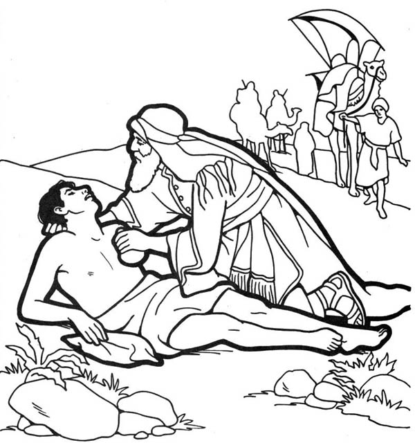 Good Samaritan Coloring Pages Best Coloring Pages For Kids