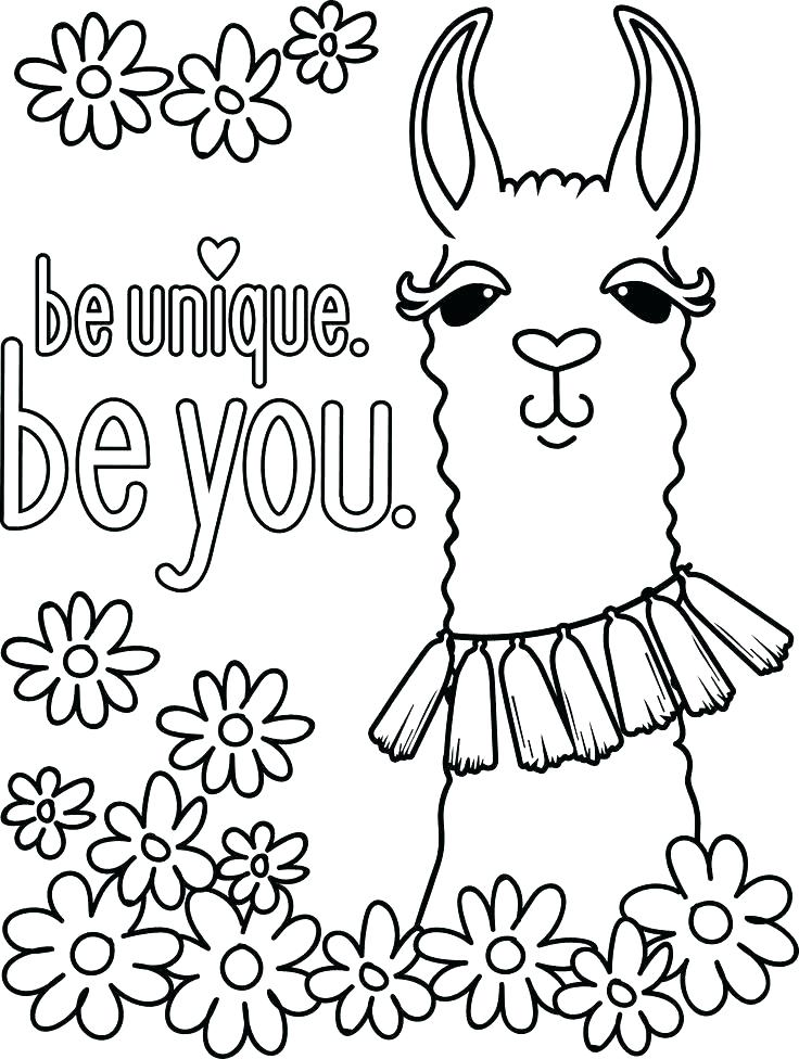 72 Cute Llama Coloring Pages , Free HD Download