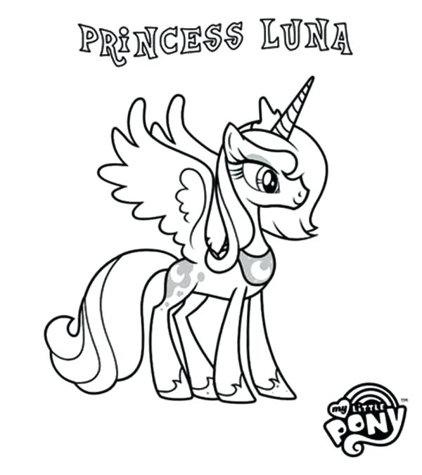 - Princess Luna Coloring Pages - Best Coloring Pages For Kids