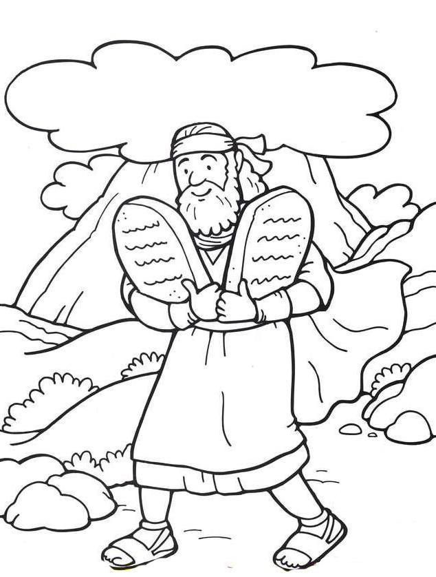 Ten Commandments Coloring Pages - Best Coloring Pages For Kids