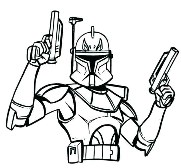 Printable Stormtrooper Coloring Pages