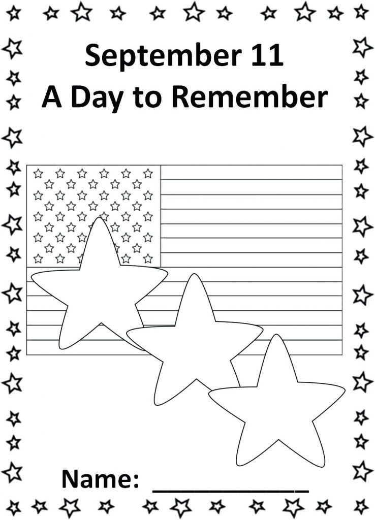 September 11 Coloring Page