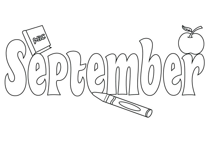 September Coloring Pages Best Coloring Pages For Kids