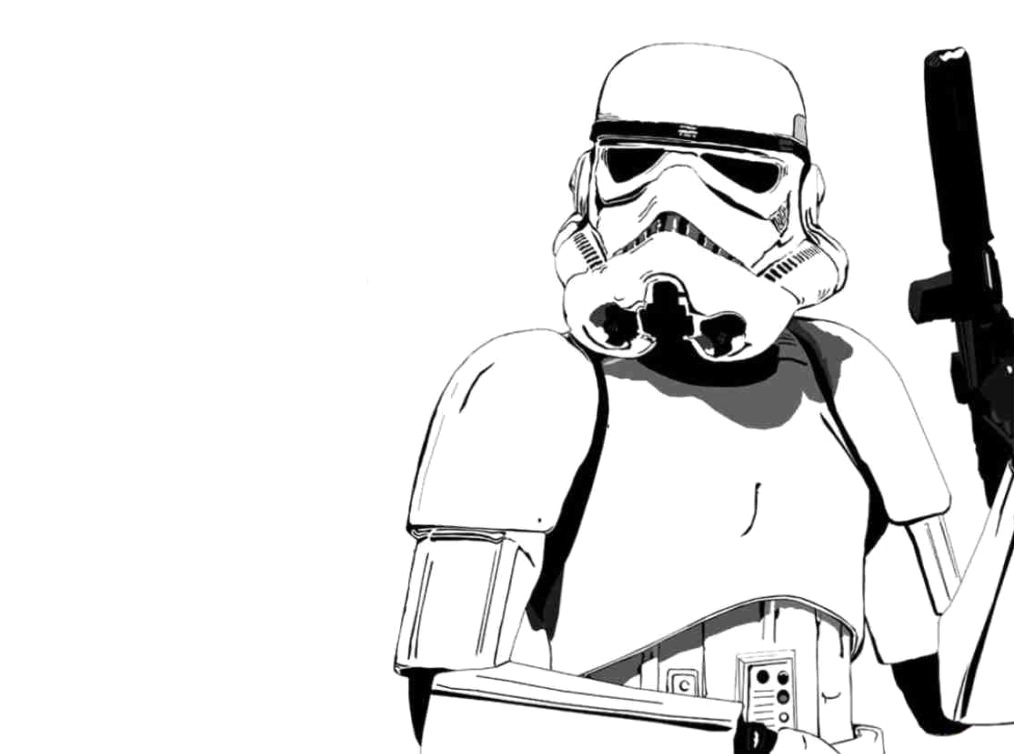 Stormtrooper Coloring Sheet