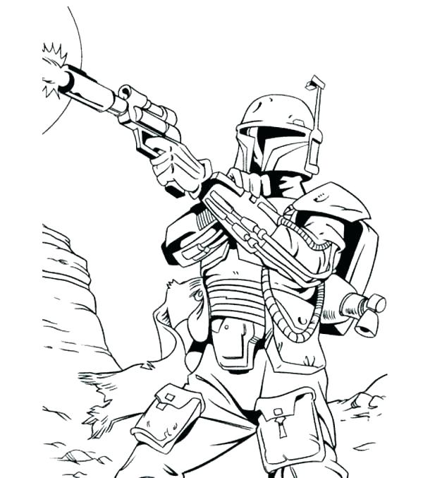 Stormtrooper Printable Coloring Pages
