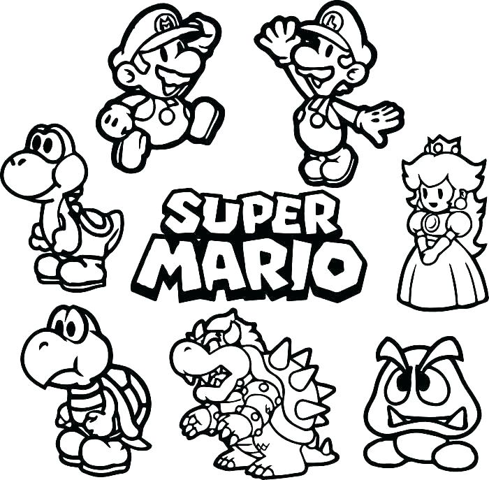 - Bowser Coloring Pages - Best Coloring Pages For Kids
