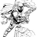 Boba Fett Star Wars Coloring Pages
