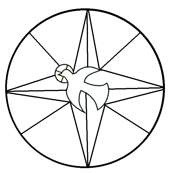 Dove Symbol Coloring Page