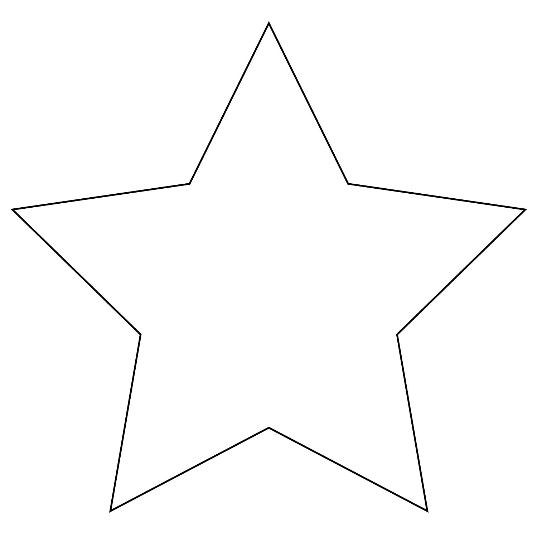 Шаблон звездочек для открытки