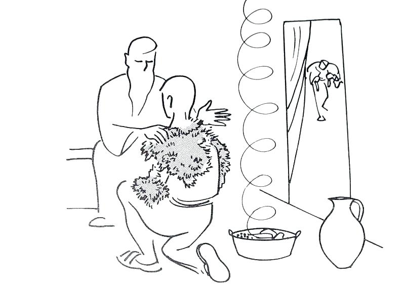 Printable Jacob And Esau Coloring Pages