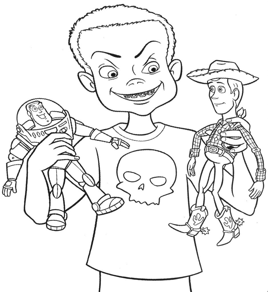 Sid Buzz and Woody Coloring Pages