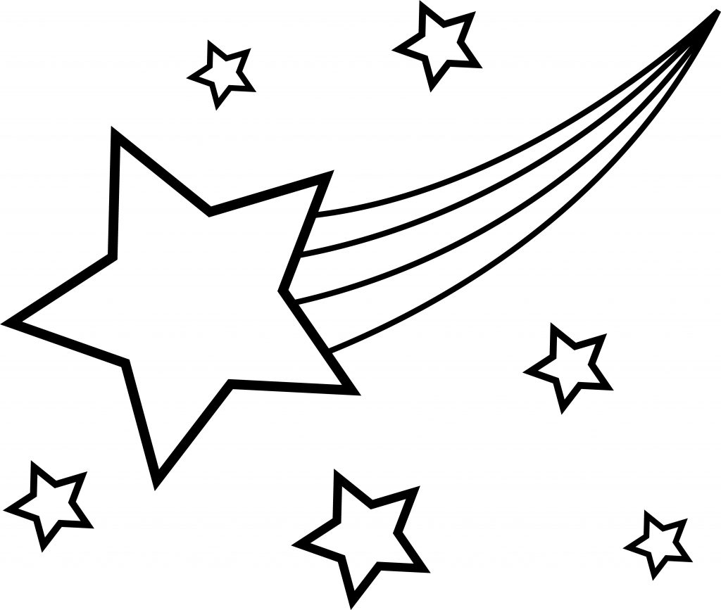 Stars in the Sky Coloring Page