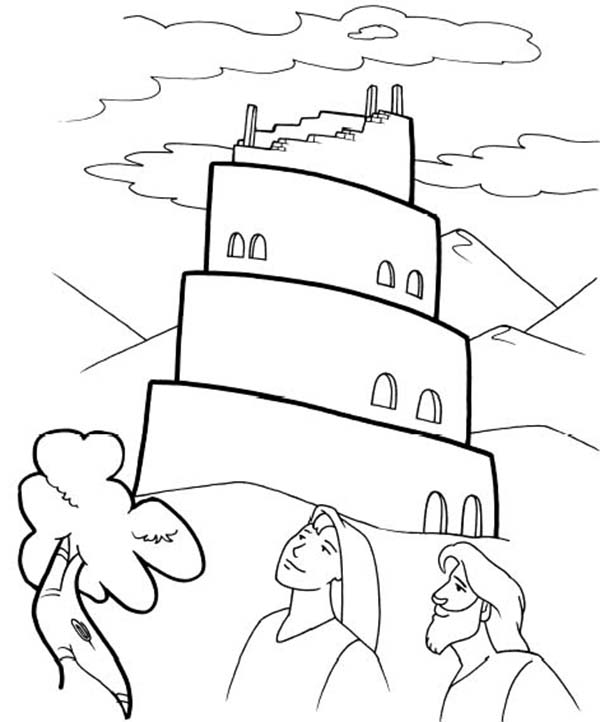 Tower Of Babel Coloring Sheets