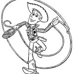 Woodys Lasso Coloring Page
