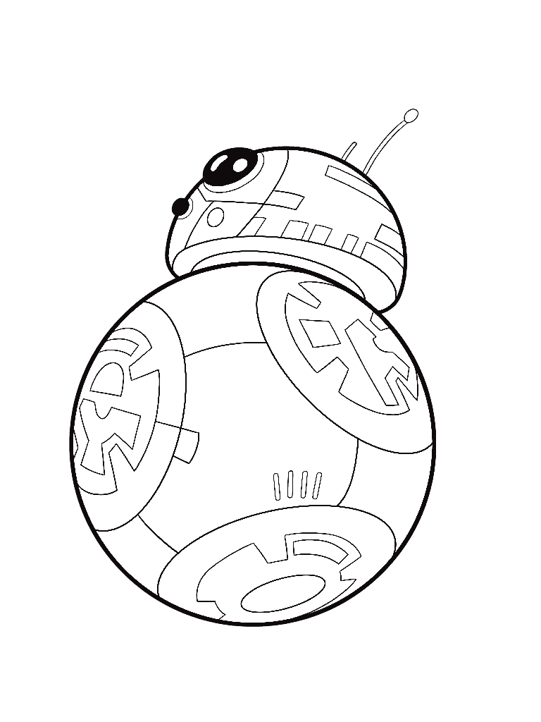 Bb8 Coloring Page Printable
