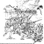 Battle Of Lexington Civil War Coloring Pages