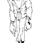 Cool Frankenstein Coloring Pages