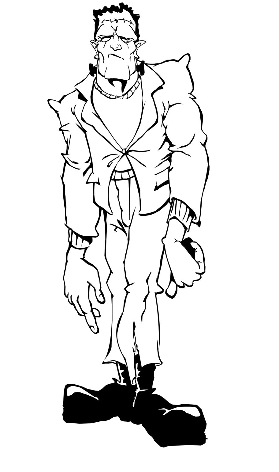 Frankenstein Coloring Pages Best Coloring Pages For Kids