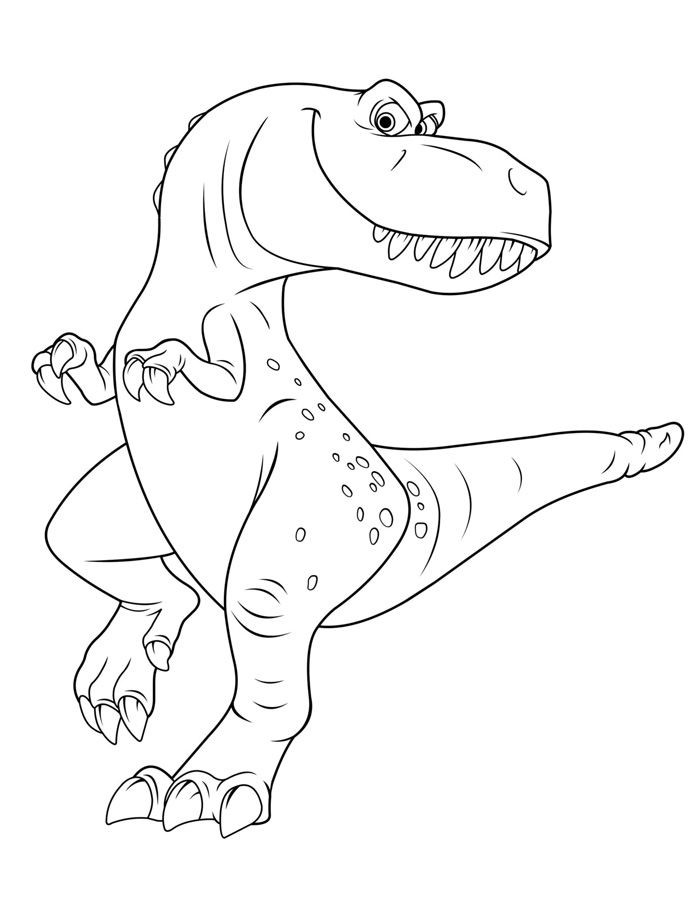 Good Dinosaur Coloring Page