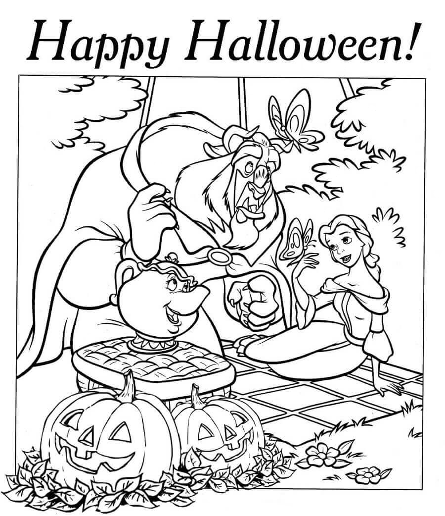 Disney Halloween Coloring Pages Best Coloring Pages For Kids