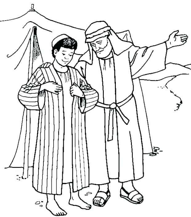 Joseph Son Of Jacob Coloring Page