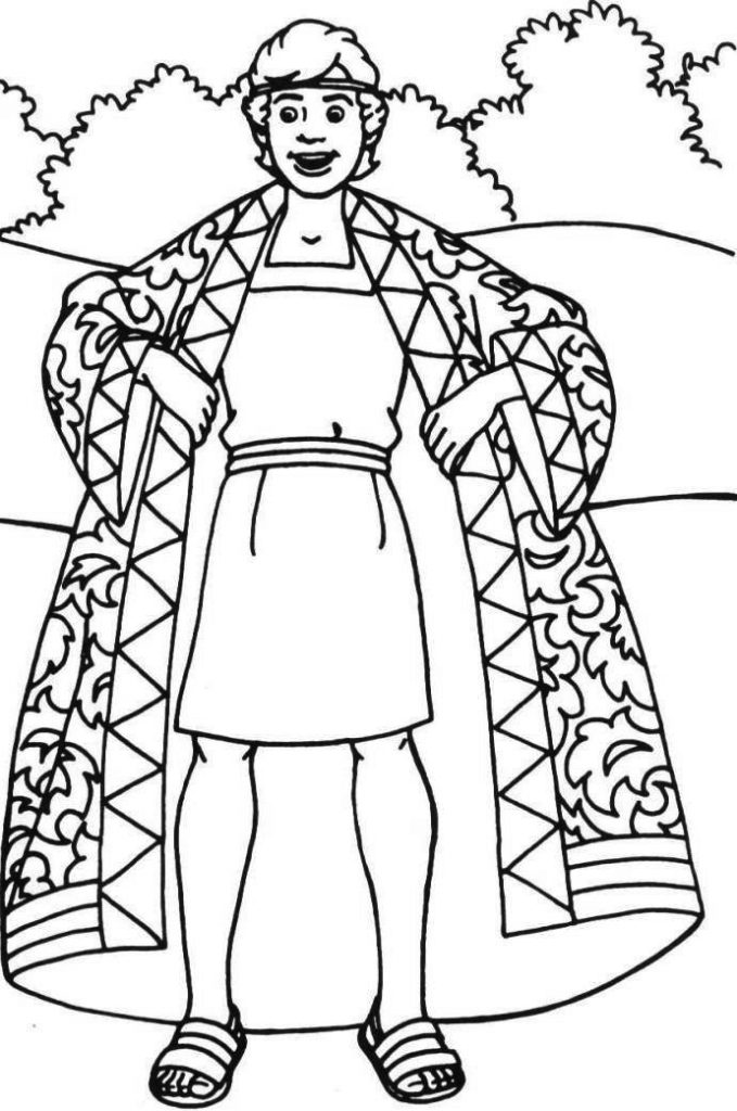Jospeh Bible Coloring Pages