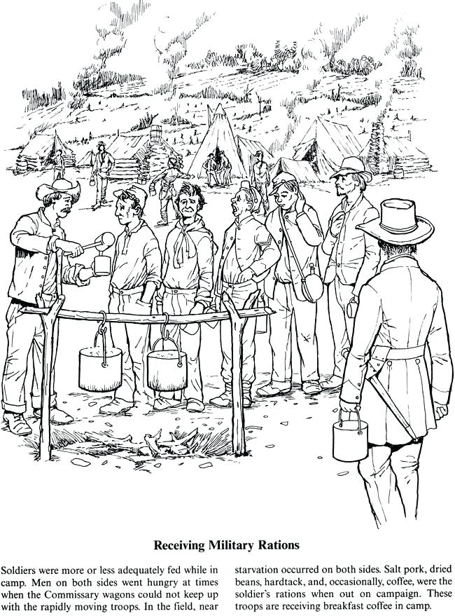 Civil War Coloring Pages Best Coloring Pages For Kids