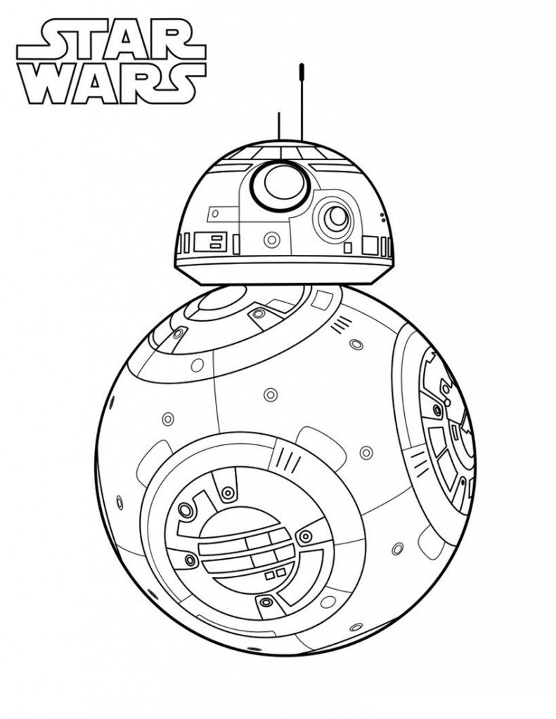 Star Wars Bb8 Coloring Pages