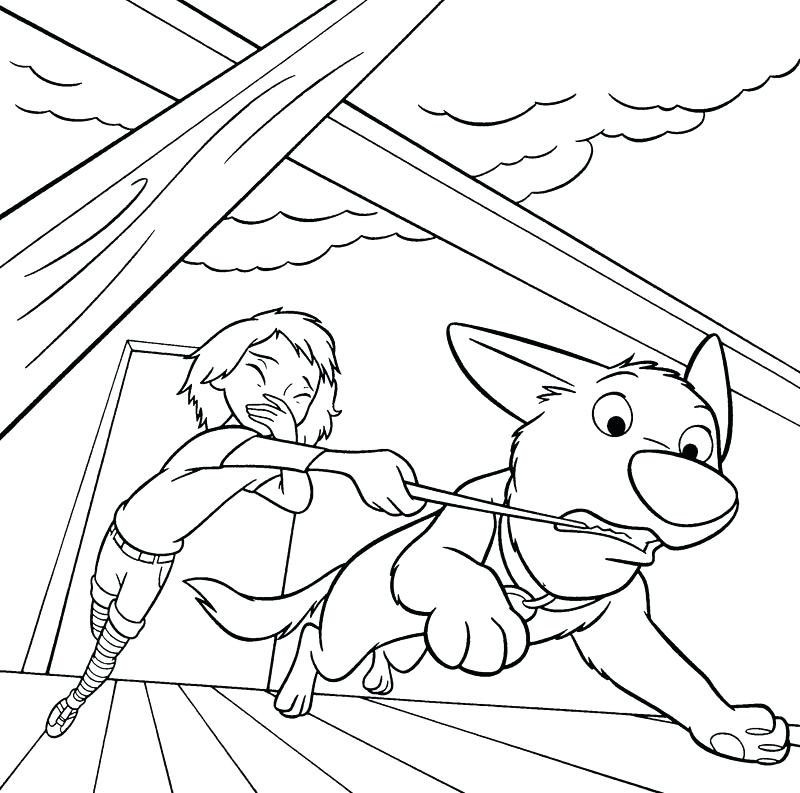 Bolt Coloring Page Printables
