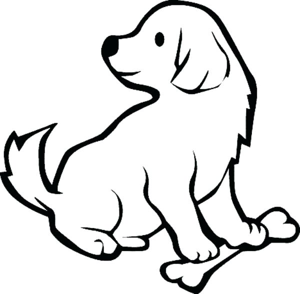 Labrador retriever coloring page | Free Printable Coloring Pages | 588x600