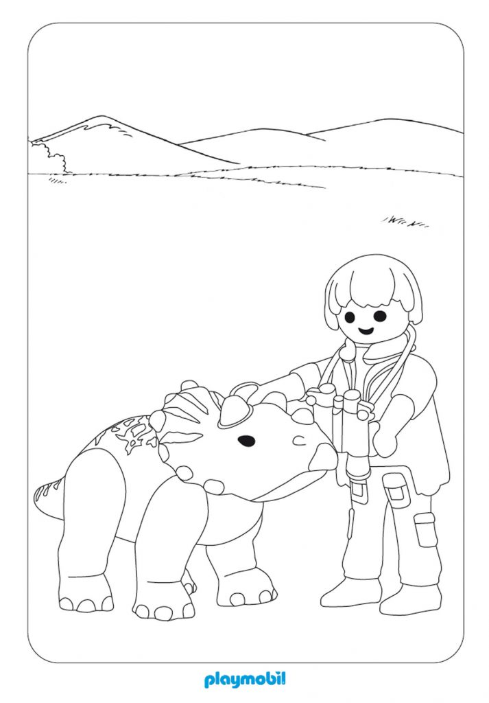 Playmobil Coloring Pages