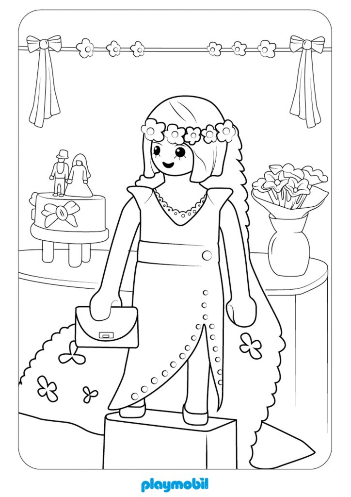 Playmobil Movie Coloring Pages