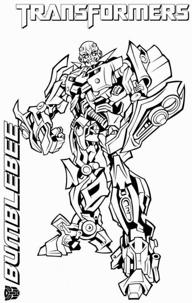 Cool Bumblebee Coloring Pages