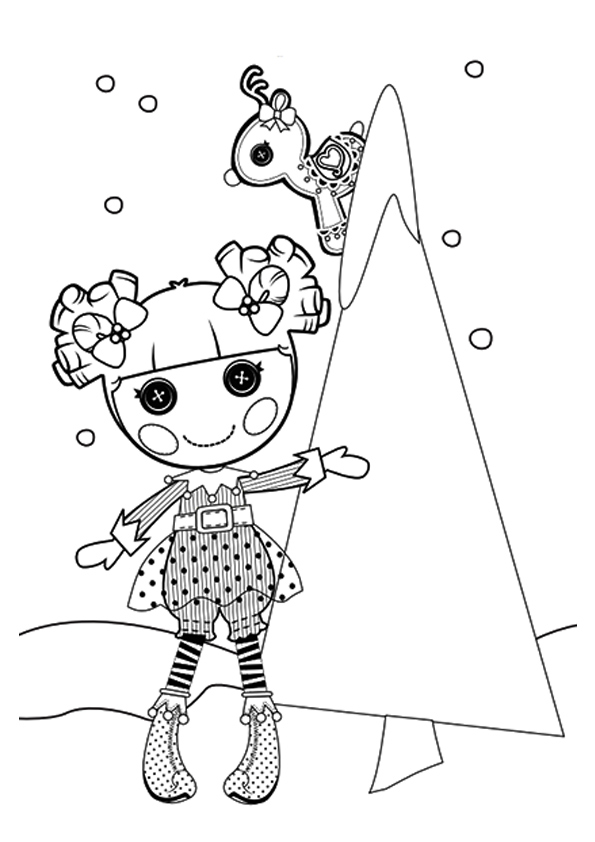 Cute Lalaloopsy Coloring Pages