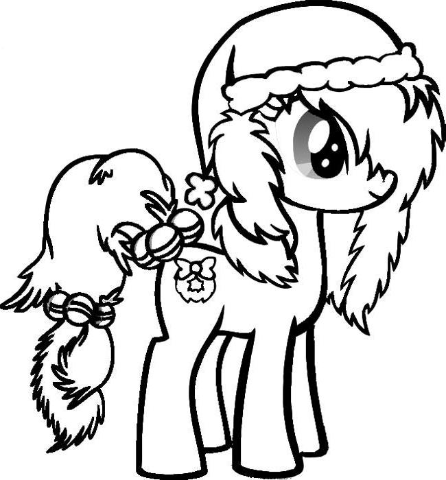 my little pony christmas coloring pages best coloring pages for kids my little pony christmas coloring pages