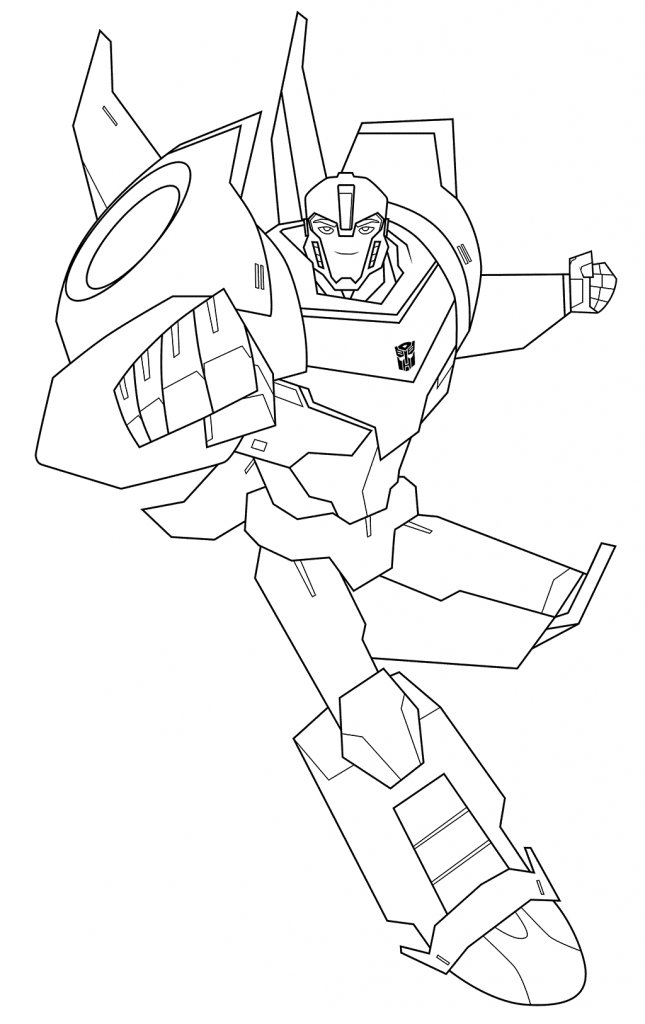Easy Bumblebee Coloring Page